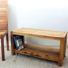 amazon com coffee table w shelf 36x16x18 inch h farmed teak slat