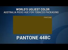 worlds ugliest color world s ugliest color plays role in anti smoking caign youtube