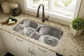 faucet kitchen sink rubbed bronze faucets with a stainless steel sink kitchen bar
