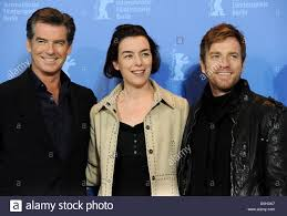 The Ghost Writer by Us Actor Pierce Brosnan L R British Actress Olivia Williams And