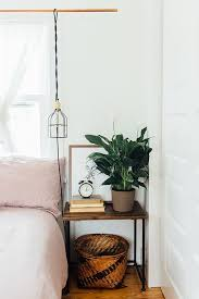 Bedside Table Ideas Impressive Bedside Table Decor In Best 25 Ideas On Pinterest White