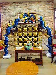 Wall Decoration With Balloons by Balloon Decorations Gallery
