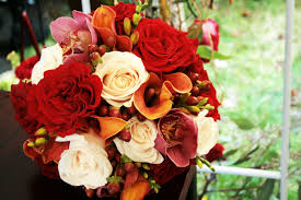 modern fall wedding flower arrangements with flowers 50th