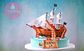 the of a pirate ship cake mcgreevy cakes