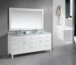 adorna 78 inch double sink bathroom vanity set white finish