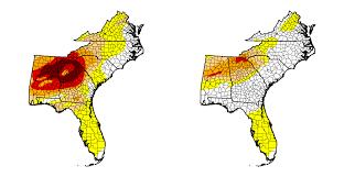 Usa Drought Map by California Us Drought Improves Drastically Wxornotbg