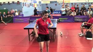 table tennis los angeles yuan xiao jie vs ariel hsing open singles qf youtube