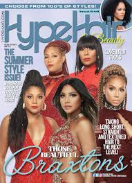 hype hair magazine photo gallery the braxtons cover hype hair june 2017