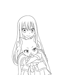 fairy tail lineart part 3 wendy and charle by tobeyd on deviantart
