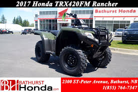 new 2017 honda trx420 rancher at bathurst honda b7016