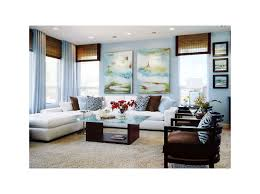 blinds and curtains together contemporary family room by way of