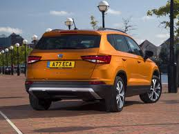 acid yellow jeep seat ateca suv review parkers