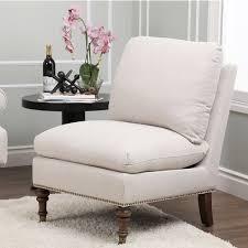 grey linen chair abbyson pedersen grey linen slipper chair by free