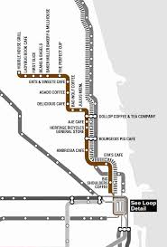 cta line map the best coffee shops in chicago near every cta stop thrillist