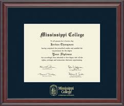 college diploma frame mississippi college gold embossed diploma frame in studio item 223169