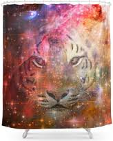 White Tiger Shower Curtain Amazing Deal On Society6 White Tiger Shower Curtain