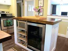 kitchen island table on wheels small kitchen island table kitchen island with wine fridge small