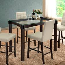 glass counter height table sets counter height table artcercedilla com