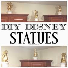 home decor statues disney under 3 diy disney statues
