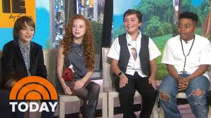 peanuts movie u0027 cast says anchors halloween costumes were u0027a little