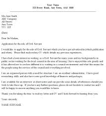 civil servant cover letter example u2013 cover letters and cv examples