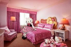 kitty bedroom furniture cute glamorous bedroom design