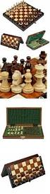 contemporary chess 40856 wood chess wooden magnetic board hand