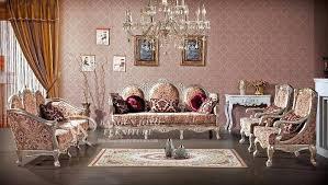 Royal Furniture Living Room Sets Royal Living Room Style 3 Set Living Room Furniture Luxury