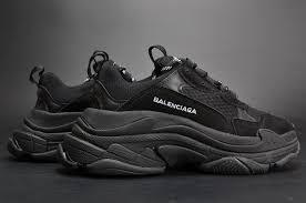 balenciaga triple s sneakers triple black cheap for sale 6 jpg