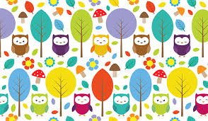 owl pattern wallpaper patterned wallpapers custom made by