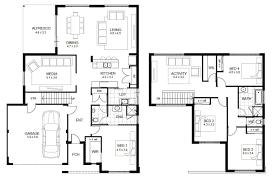 floor plans for narrow blocks floor plan angled garage house plans 2600 sf indianapolis ft wayne