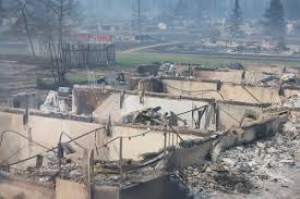 How Many Wildfires In Canada by In Photos Canada U0027s Devastating Fort Mcmurray Wildfires Knkx