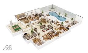Mixed Use Building Floor Plans by 3d Architectural Floor Plans Rendering Portfolio 3d Floorplanner