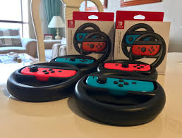 photos of the joy con wheel nintendo everything