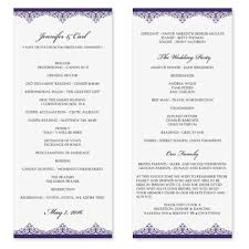 Wedding Program Templates Free Download Elsevier Social Sciences Page 2 Of 4 Education Redefined