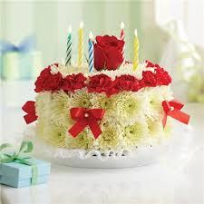 birthday flower cake birthday flower cake bright 1 800 flowers 4 gift seattle