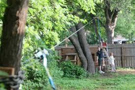 backyard zip line ideas home outdoor decoration