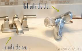 bathroom sink faucet upgrade with moen jenna burger