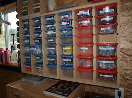 Garage Workshop Organization Ideas - garage storage for small parts courtesy of kmtsilvitech shop