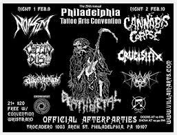 corpse official philly tattoo convention afterparty the