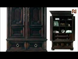 bernhardt carmel highlands armoire base 392 146b dark patina youtube