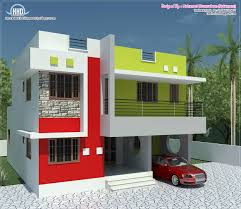 700 Sq Ft House 1500 Sq Ft House Plans Single Villa For 2bhk Front Elevation