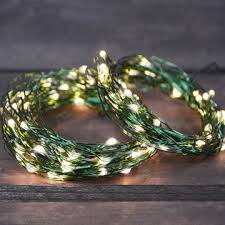 led lights green wire in multifunction 50ft warm white