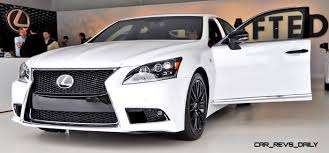 white lexus gs f sport car revs daily com 2015 lexus ls460 f sport crafted line is most