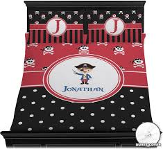 Polka Dot Bed Sets by Pirate U0026 Dots Duvet Cover Set Personalized Baby N Toddler