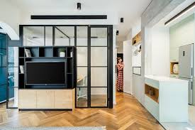 home design center israel small apartment merges living and working spaces into a cozy home