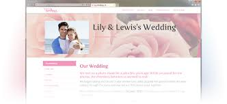 wedding web wedding website easy weddings planning tools