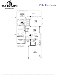 mi homes floor plans villa gardenia m i homes plan chapel hill north carolina 27516