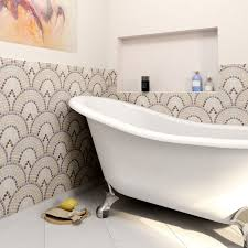 somertile reflections arch spice glass and stone mosaic tiles