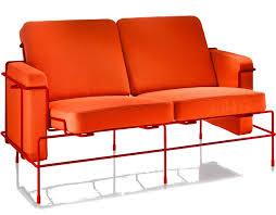 magis traffic two seat sofa hivemodern com